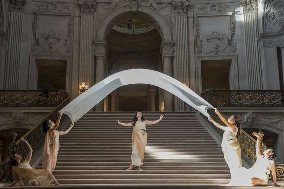 Mary Sano and her Duncan Dancers, Monique Goldwater, Tomoko Ide, Amber Sky, and Mako Suzuki will perform in this weekend's Dionysian Festival.
