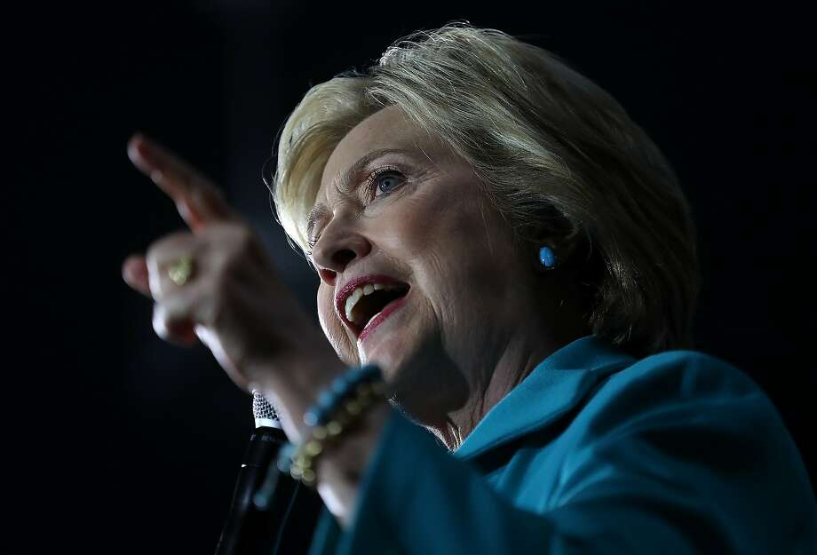 Hillary Clinton is a prohibitive favorite to attain the party's nomination  before its Philadelphia convention. Still, Californians deserve more  than a succession of rallies, photo opportunities and fundraisers from a  major presidential candidate. Photo: Justin Sullivan, Getty Images