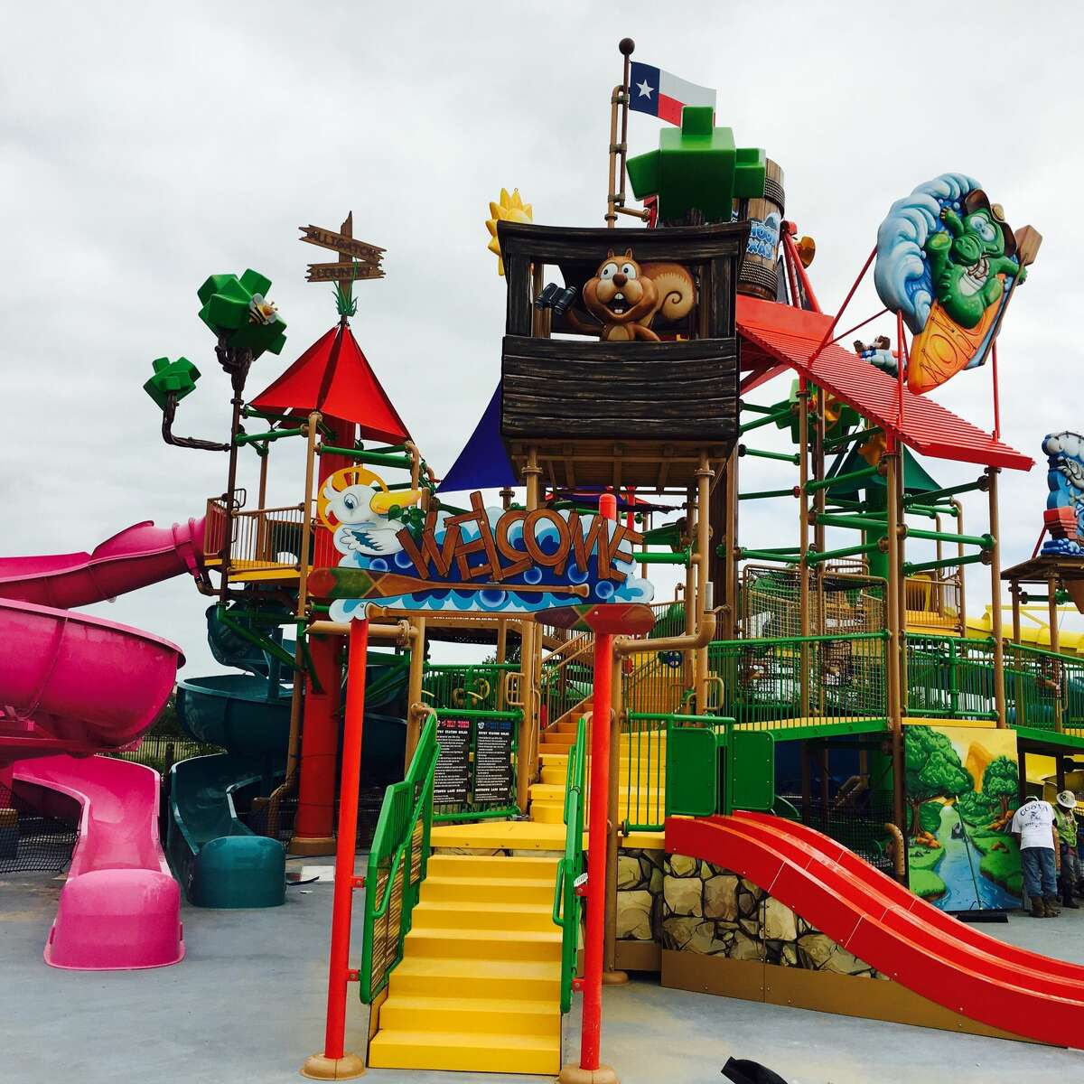 Ride/slide: Gully Washer Location: Katy, Texas Park: Typhoon Texas Waterpark Person: Female, age 9 Incident: Guest slipped and fell in the slide and hurt her finger Injury: Swollen ring finger