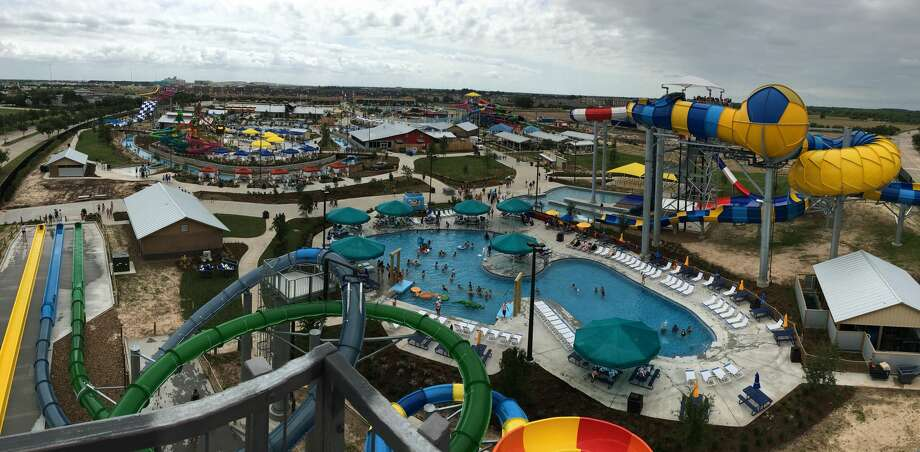 Typhoon Texas waterpark in Katy held a field trip day for local school on May 23. The park will open Memorial Day weekend. Photo: Sebastian Herrera / Houston Chronicle
