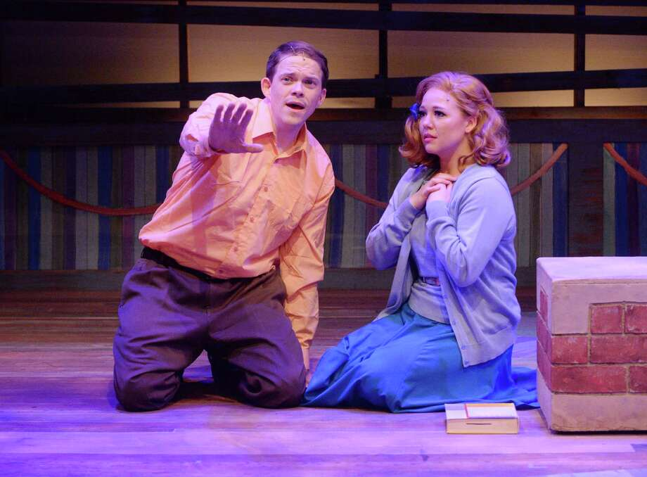"Kregg Dailey and Holland Vavra star in Stages Repertory Theatre's ""Big Fish."" Photo: Jon Shapley, Staff / © 2015  Houston Chronicle"