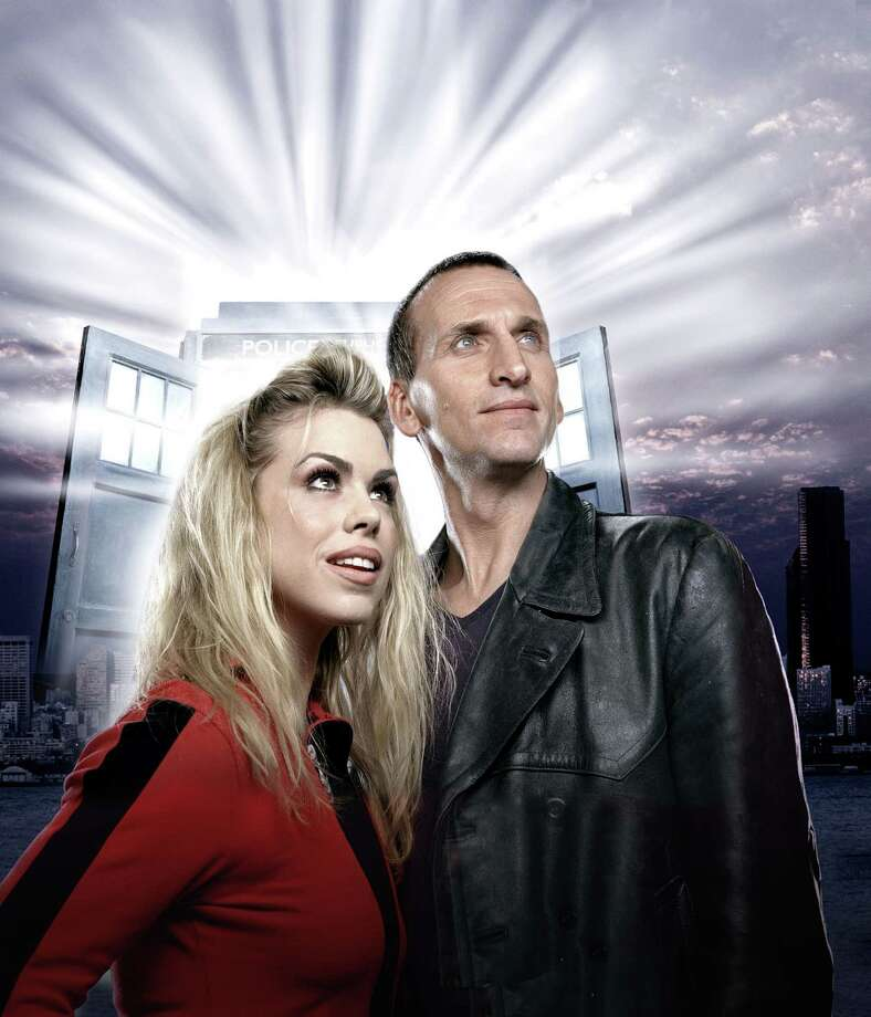 """Billie Piper starred as Rose Tyler and Christopher Eccleston as the Ninth Doctor in """"Dr. Who."""" Photo: COLIN BELL, HO / BBC"""