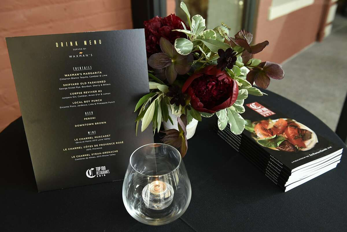 The Chronicle's Top 100 Restaurants celebration at Waxman's Restaurant at Ghirardelli Square in San Francisco, CA Monday, May 23th, 2016.
