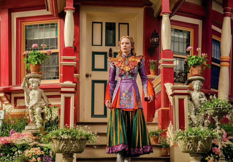 """In this image released by Disney, Mia Wasikowska appears in a scene from """"Alice Through The Looking Glass."""" (Peter Mountain/Disney via AP) Photo: Peter Mountain, HONS / Associated Press / Disney"""