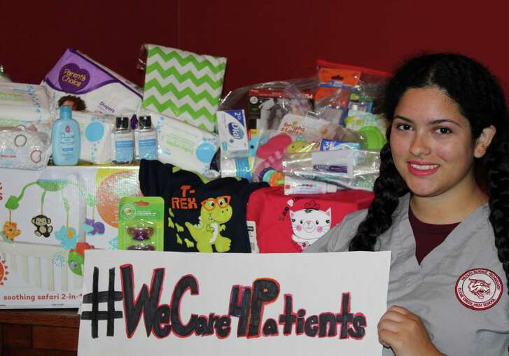 Girl Scout Ambassador Madeline Castillo's Gold Award project, #WeCare4Patients, provides hospital patients with necessities to make their stay more comfortable and, ultimately, aid in their recovery.    Girl Scout Ambassador Madeline Castillo's Gold Award project, #WeCare4Patients, provides hospital patients with necessities to make their stay more comfortable and, ultimately, aid in their recovery.