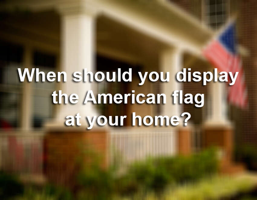 Unless you have a flag pole in your front yard, you probably don't put the U.S. flag out every day. Click ahead to see which days the U.S. Flag Code says you should definitely display your flag.