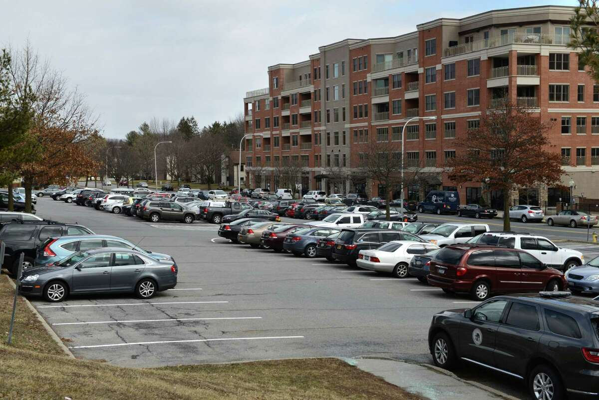 View of Saratoga?'s city-owned 2.62-acre parking lot between High Rock Avenue and Maple Avenue on Wednesday, March, 2, 2016, in Saratoga Springs, N.Y. (Will Waldron/Times Union)