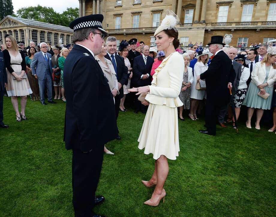 Kate Middleton was recently seen at the Queen's garden party wearing the same ivory-colored outfit she wore to her son's christening. People are really up in arms about her repeat outfit, but it's among some of her best looks. Take a look through the gallery and see for yourself. Photo: Getty Images