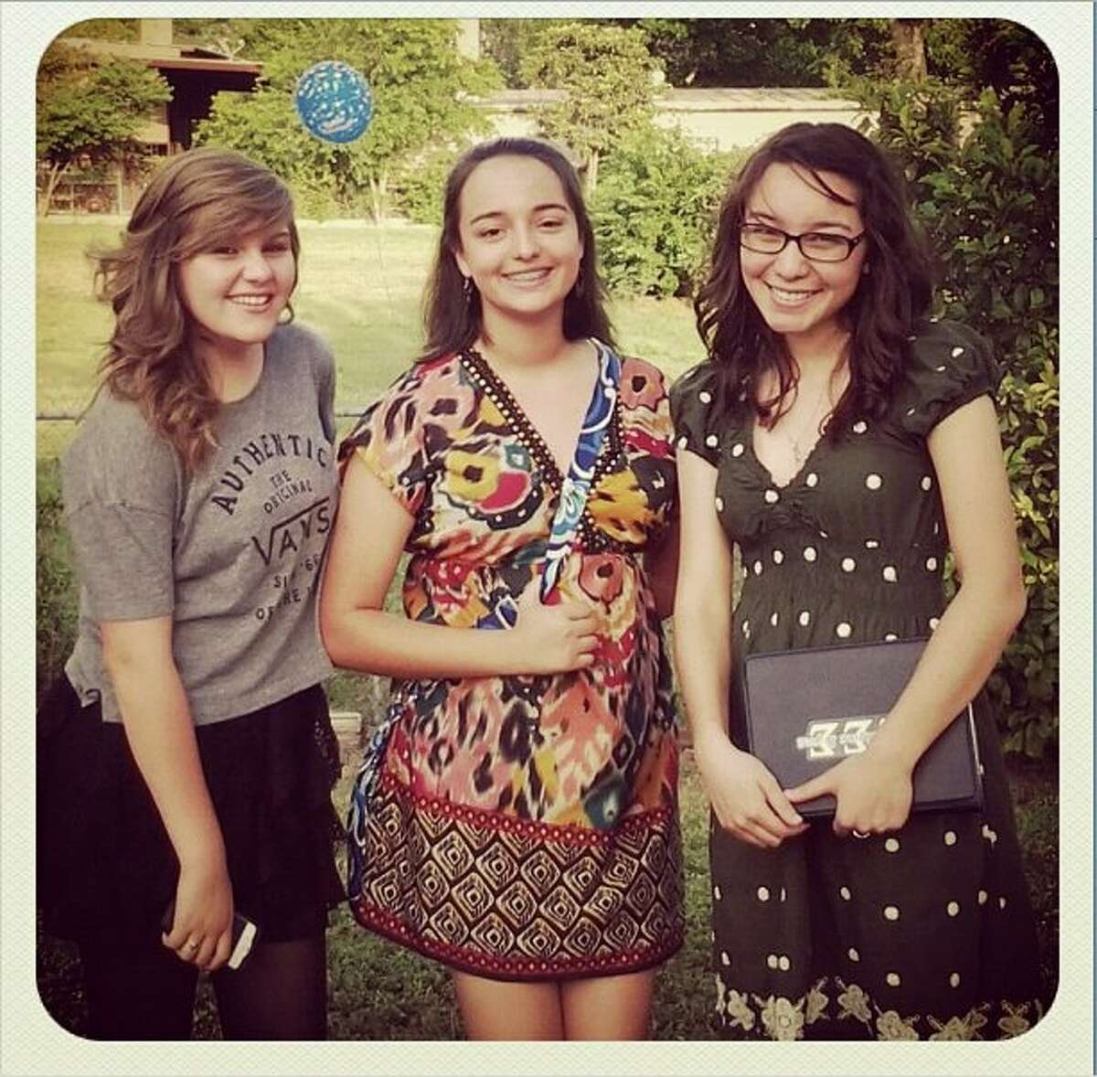 Eighteen-year-old Valeria Cortez (center), died on May 22, just days before her high school graduation after battling leukemia.
