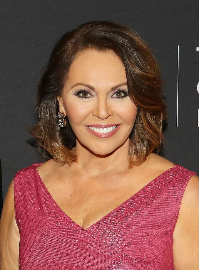 Univision broadcaster Maria Elena Salinas gave two speeches to Cal State Fullerton grads Sunday. The second one caused a bit of a commotion. Photo: Alexander Tamargo, Getty Images