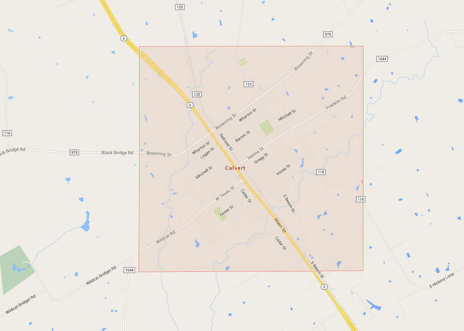 CalvertWhere it is: On both sides of town on Highway 6