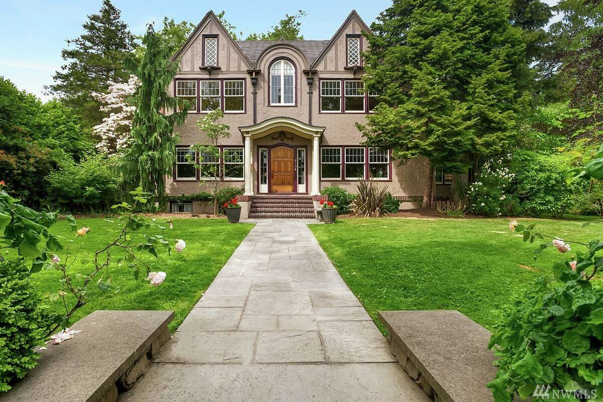 This home, 2158 E. Shelby St., is listed for $2.75 million. The four bedroom, three bathroom home is a 1925 Tudor revival. The home has beautiful mature gardens on a large lot with no neighbors. The home has views of the Montlake Cut. You can see the full listing here.