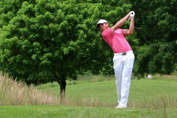 UH golfer Michael Perras, who will compete in the NCAA tournament this weekend.