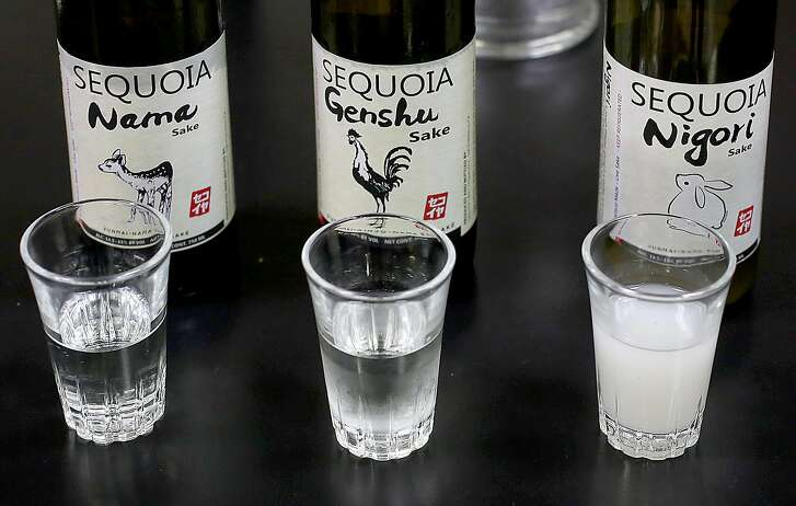 Sake products seen at Sequoia Sake on Tuesday, May 24, 2016 in San Francisco, Calif.