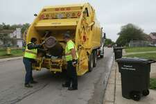 Garbage is collected in the Camelot II neighborhood. An annexation plan, in which the city of Converse will take over a swath of Camelot, will solve that area's trash collection problem. Garbage collection had been occurring as part of a pilot program with the city of San Antonio.
