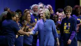 Democratic presidential candidate Hillary Clinton gives off an exclusively professional vibe: industrious, calculated, goal-oriented, distrustful. It's hard from the outside to have a sense of her as a person; she is a role.