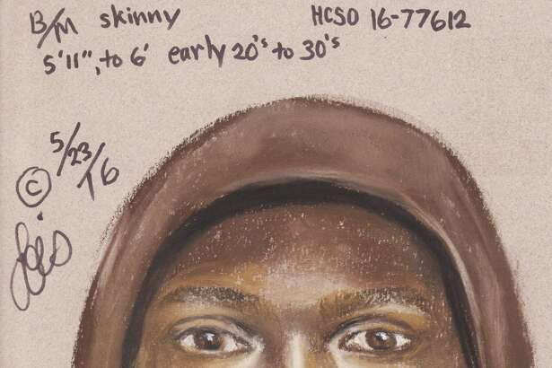 The Harris County Sheriff's Office is on the lookout for a man who allegedly shot a woman in the shoulder while attempting to rob her May 13, 2016, at an ATM at Texas 6 and West Road.   He is described as 6 feet tall, in his early 20's and has gold teeth.