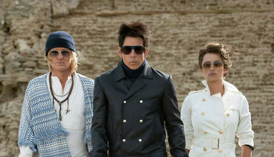 "They've got the looks: Owen Wilson (from left), Ben Stiller and Penelope Cruz in ""Zoolander 2."" Photo: Paramount Pictures / © 2015 Paramount Pictures. All Rights Reserved."