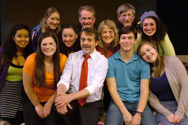 The Westport Community Theatre is proudly presenting Godspell, from June 3 through June 26, on Fridays and Saturdays at 8:00 p.m. and at 2:00 p.m. on Sundays, with Thursday performances on June 9 and June 16 at 8:00 p.m. Tickets are $28, $26 for seniors and students, and can be purchased at westportcommunitytheatre.com or by calling (203) 226-1983. The Westport Community Theatre is located at the Westport Town Hall, 110 Myrtle Avenue. Pictured front row left to right: Betzabeth Castro, Caitlin Brown, Jessica Braun, Norris Wakefield (Jesus), Rosalind Cormier, Tyler Campbell, Katherine Logan, back row left to right: Dena Lagonigro, Bill Warncke (Judas), Rob Pawlikowski, and Emily Beers.