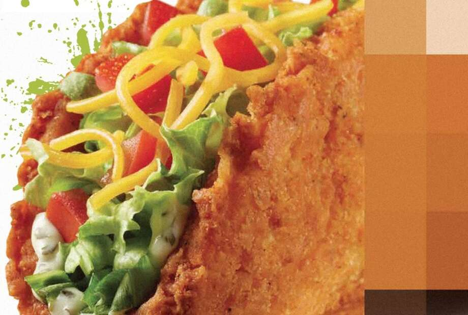 Because the waffle shell taco and Doritos shell taco were not enough, Taco Bell has now introduced the Naked Chicken Chalupa, or a taco wrapped in a fried chicken shell.Also, Burger King's chicken fries and chicken rings were not sufficiently unnatural forms of questionably sourced chicken.  Photo: Taco Bell