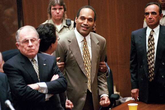 "After his controversial 1995 acquittal in t he killings  of his ex-wife Nicole Brown Simpson and her friend Ronald Golamsn, O.J. Simpson became a man who has fallen out of his own story, and Ezra Edelman's documentary ""O.J.: Made in America,"" which debuts on ABC and ESPN next month, proceeds to show us exactly how."