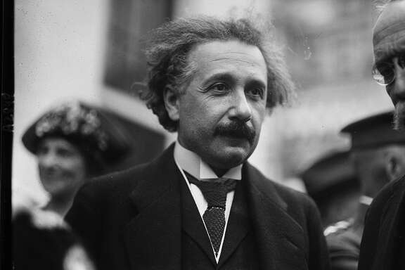 Albert Einstein, between 1921 and 1923.