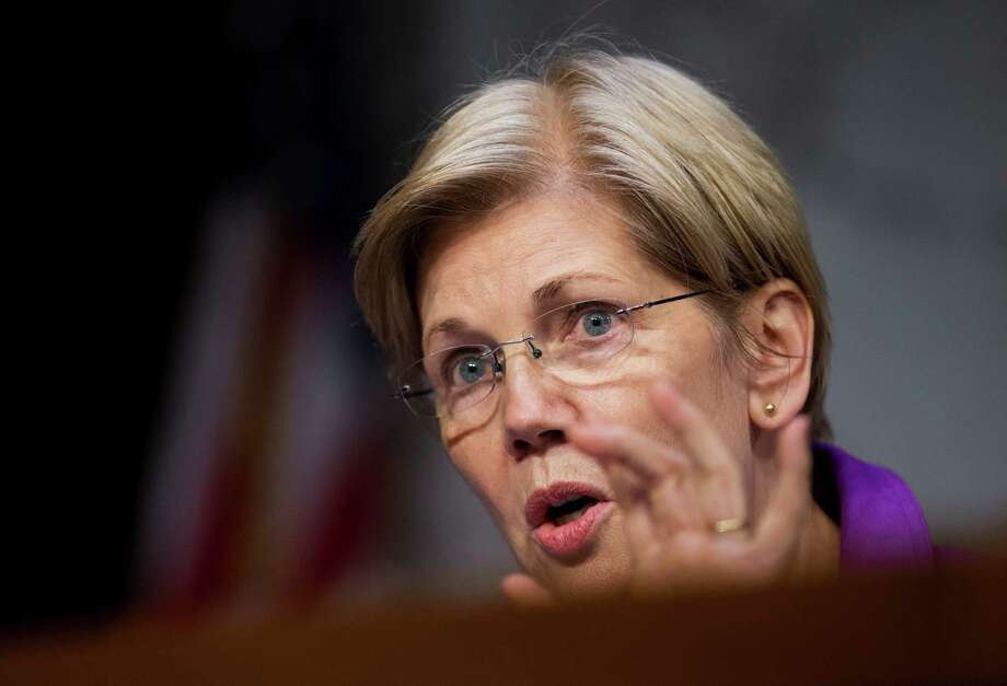 Sen. Elizabeth Warren, D-Mass., is grabbing center stage in the 2016 presidential race as Donald Trump's most effective antagonist and Sen. Bernie Sanders' top rival for the affections of progressive voters. The combination could make Warren an indispensable ally to Hillary Clinton. Photo: Manuel Balce Ceneta, STF / AP