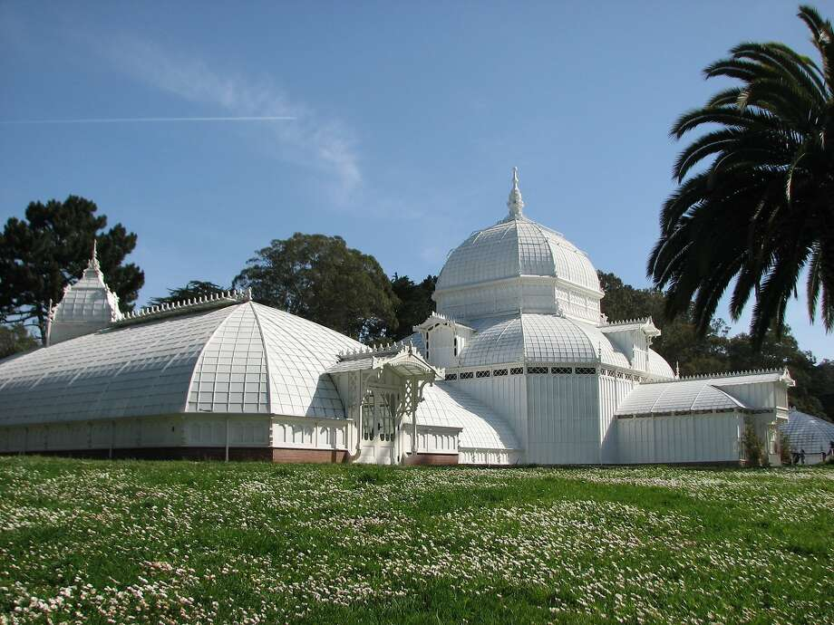 The Conservatory of Flowers in Golden Gate Park. Photo: John King, The Chronicle