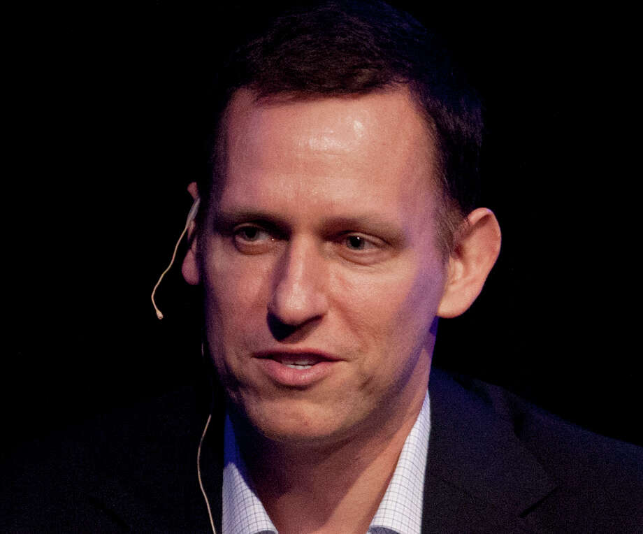 FILE - In this Thursday, March 8, 2012, file photo, Clarium Capital President Peter Thiel speaks during his keynote speech at the StartOut LGBT Entrepreneurship Awards in San Francisco. Billionaire tech investor Thiel has been secretly funding Hulk Hogan's lawsuit against Gawker Media for publishing a sex tape, according to reports in Forbes and The New York Times. (AP Photo/Ben Margot, File) Photo: Ben Margot, STF / AP2012