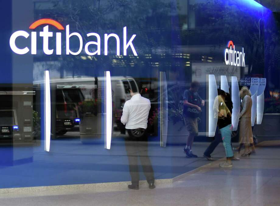 (FILES) This file photo taken on July 14, 2014 shows the Citibank Corporate Office & Headquarters in New York.   Citigroup reported a hefty decline in first quarter earnings April 15, 2016 due to weak trading revenues and the energy bust in results that still bested analyst expectations.Net income for the first quarter dropped 26.6 percent to $3.5billion. Revenues were down 11.4 percent to $17.6 billion.  / AFP PHOTO / TIMOTHY A. CLARYTIMOTHY A. CLARY/AFP/Getty Images Photo: TIMOTHY A. CLARY, Staff / AFP or licensors