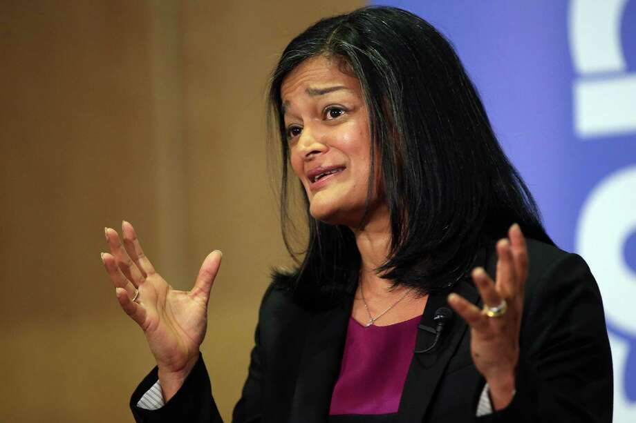 U.S. Rep. Pramila Jayapal, D-Wash.  The first term House member gets a seat on the House Judiciary Committee, certain to be a hot seat. . Photo: GENNA MARTIN, SEATTLEPI.COM / SEATTLEPI.COM