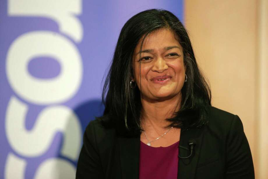 U.S. House candidate Pramila Jayapal: Fundraising in New York and Washington, D.C., with the rich and famous.  Photo: GENNA MARTIN, SEATTLEPI.COM / SEATTLEPI.COM