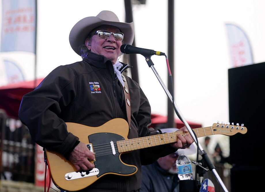 Gary P. Nunn, shown performing at the Outlaws and Legends Music Festival in April in Abilene, will open the House Pasture's concert series Saturday in Concan. Photo: Tommy Metthe /Associated Press / Abilene Reporter-News