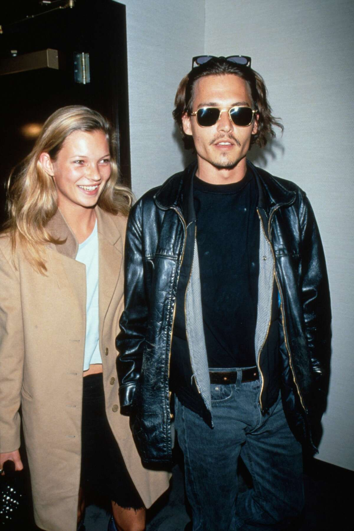 Actor Johnny Depp and model Kate Moss dated from 1994 to 1998.