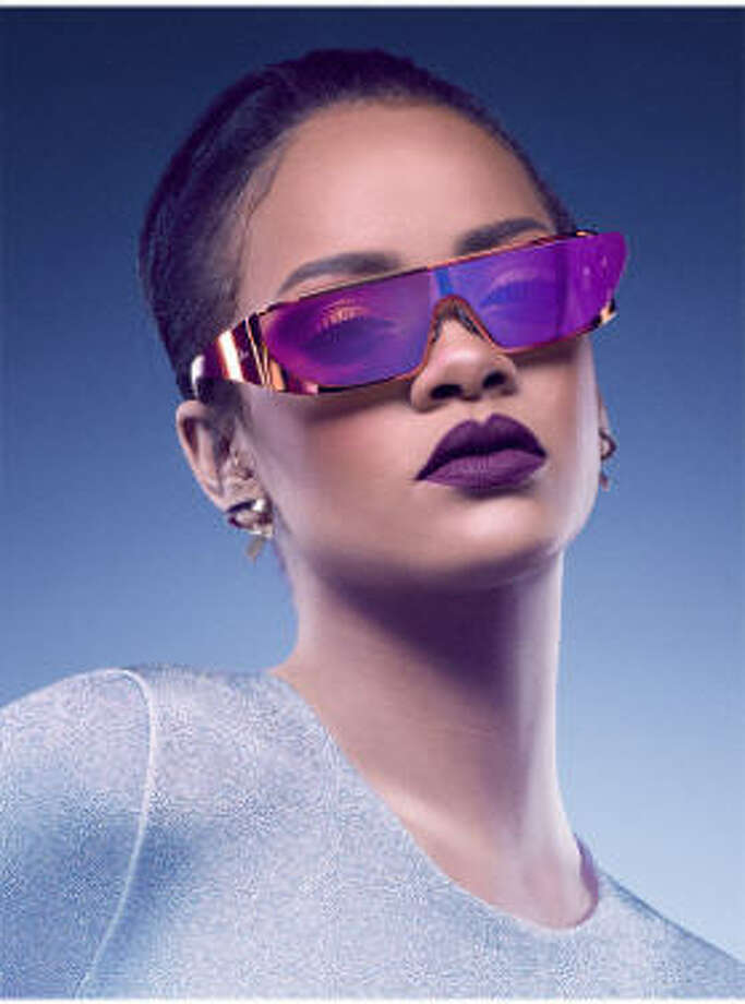 87d00af2d7990 Rihanna has collaborated with Dior on a collections of sunglasses.  Available at Dior stores and