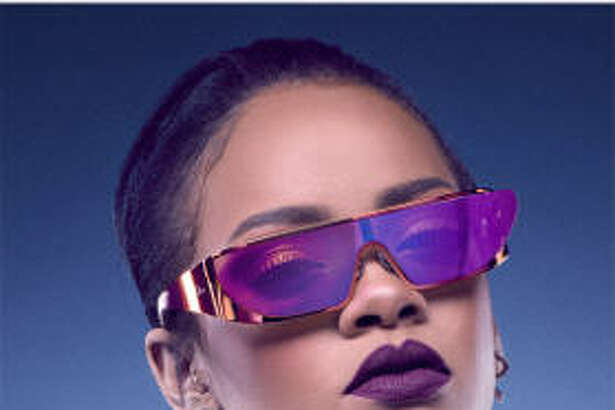 Rihanna has collaborated with Dior on a collections of sunglasses. Available at Dior stores and online
