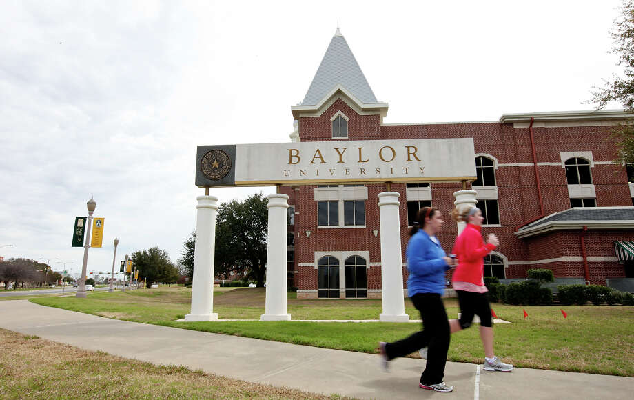 Baylor University, shown in the above photo in 2012, was put on lockdown Thursday after a shooting. Photo: EDWARD A. ORNELAS, SAN ANTONIO EXPRESS-NEWS / © SAN ANTONIO EXPRESS-NEWS (NFS)