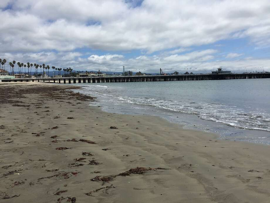 Cowell Beach in Santa Cruz. Photo: Kimberly Veklerov