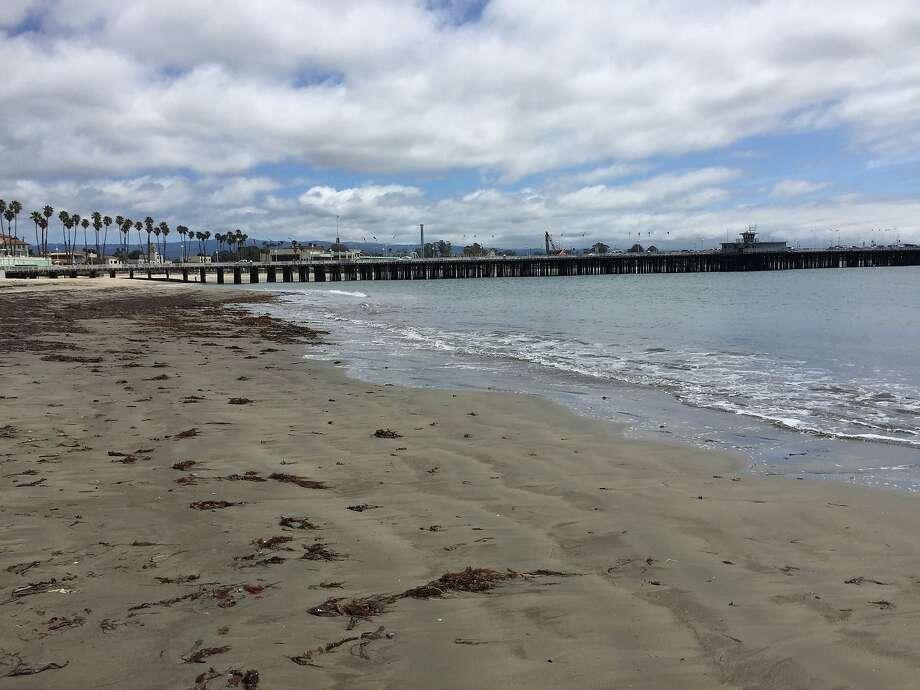 Cowell Beach in Santa Cruz. Photo: Kimberly Veklerov