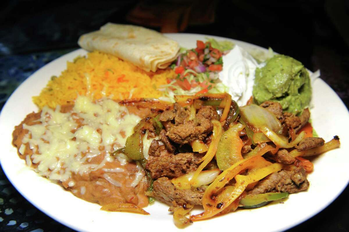 Lunch Special 15 with beef, onions and peppers on Friday, May 20, 2016, at El Patron in Albany, N.Y. (Cindy Schultz / Times Union)