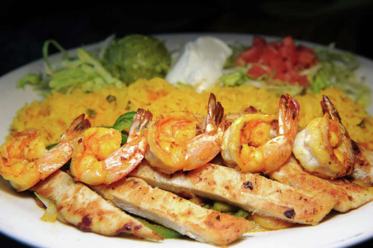 William's Special with shrimp and chicken on Friday, May 20, 2016, at El Patron in Albany, N.Y. (Cindy Schultz / Times Union)