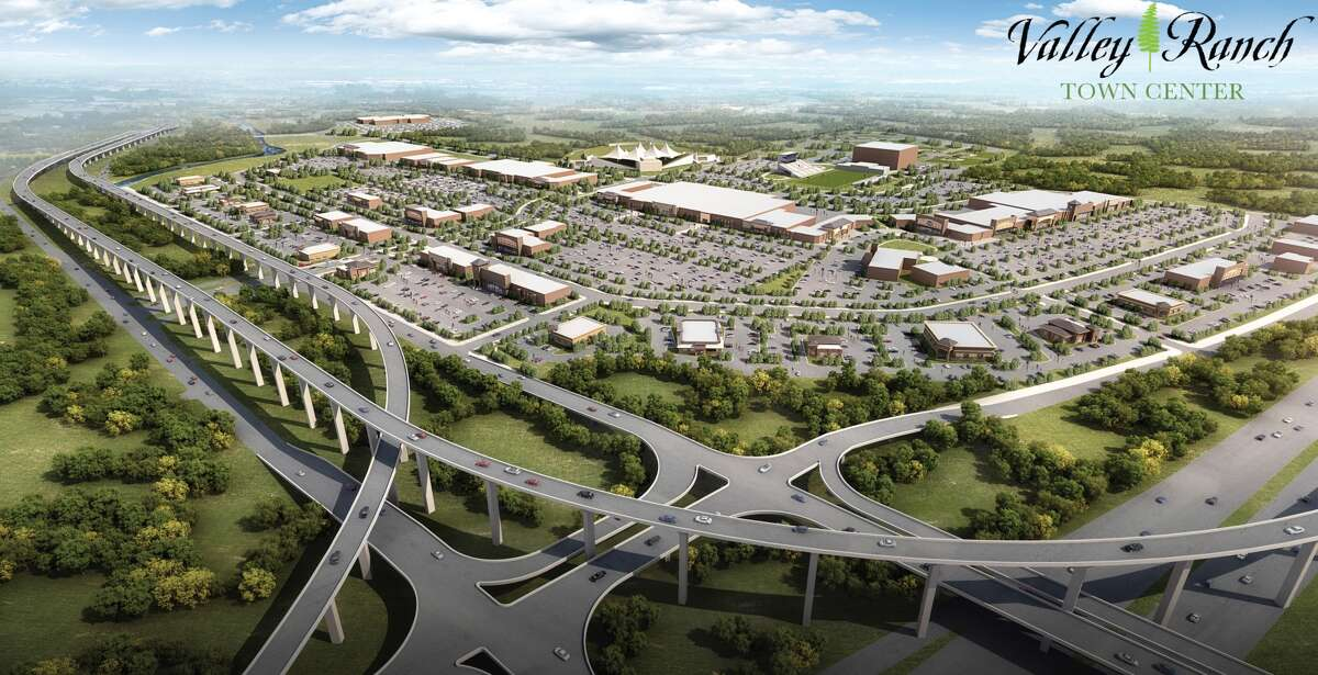 Rendering of Valley Ranch Town Center