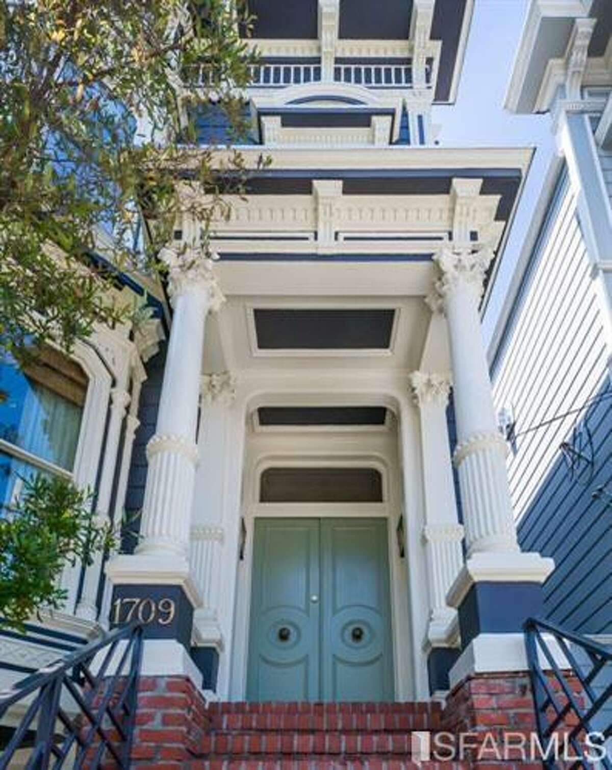 An 1883 San Francisco Victorian is on the market to rent for $13,950 per month.