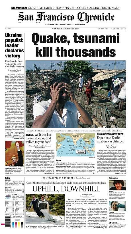 tsunami 2004 articles