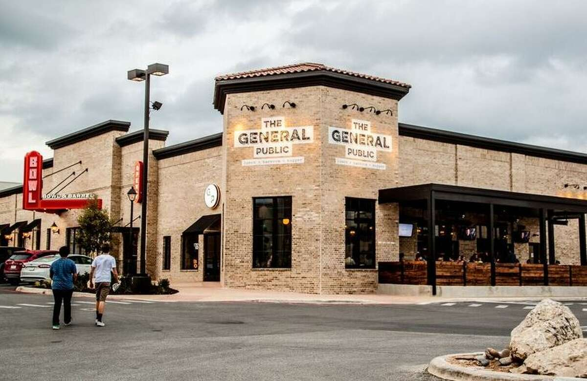 The General Public is scheduled to open in Houston's CityCentre in June. Pictured here is the San Antonio restaurant.