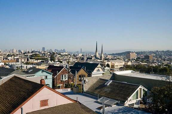 View from the party in Noe Valley.