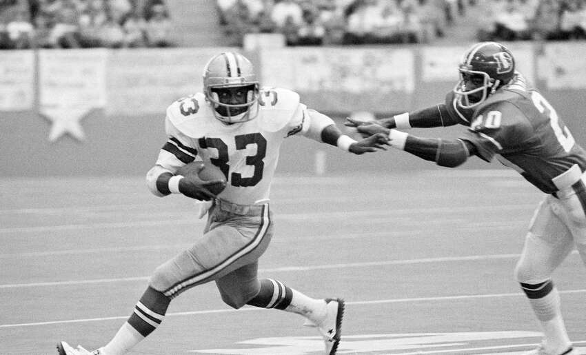 Seahawks trade down in 1977 Running back Tony Dorsett made it known that he didn't want to play for the Seahawks. So Seattle ended up trading down its second selection to land picks that turned out to be guard Steve August, offensive tackle Tom Lynch, linebacker Terry Beeson, receiver Duke Ferguson, center Geoff Reece and linebacker Pete Cronan. Dorsett went on to have a Hall of Fame career. All those players the Seahawks got? Mostly average NFL players.