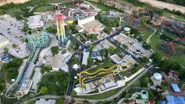 "Six Flags Fiesta Texas has unveiled a trio of new rides ahead of the summer season dubbed the ""Triple Threat of Thrills"" - including the Fireball, Hurricane Force 5 and Spinsanity - with plans to launch the Superman Virtual Reality Coaster, a virtual reality experience synced with the park's Superman Krypton Coaster, in June."