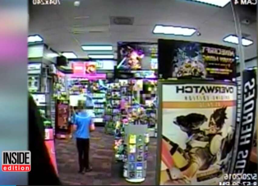 7-year-old tries to punch armed robber in Game Stop