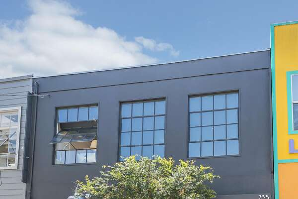 735 Clementina St. is a repurposed warehouse now hosting a two story residence.